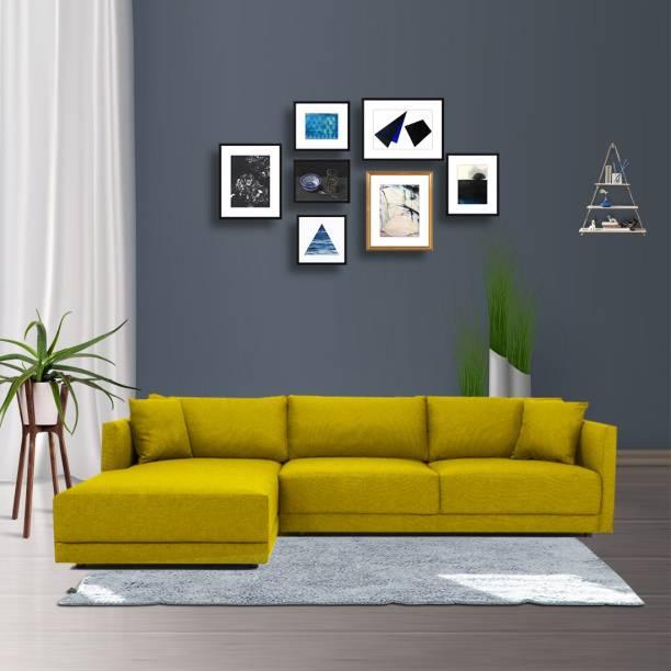Febonic ROI Fabric 6 Seater  Sofa