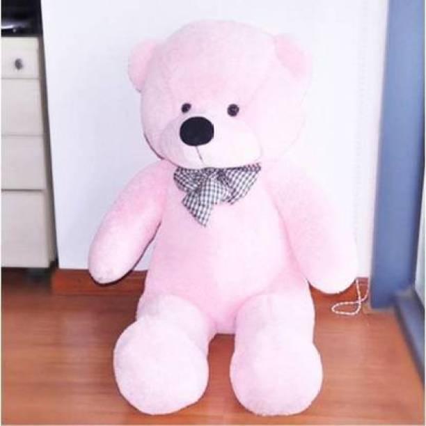 kartiktoys stuff toy 2 feet pink teddy  - 60 cm