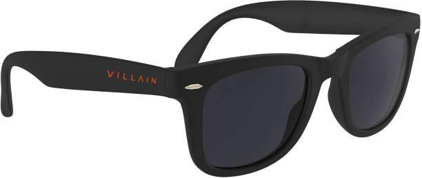 Villain Retro Square Sunglasses