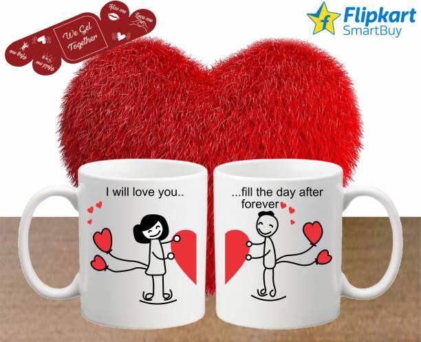 Flipkart SmartBuy Mug, Greeting Card, Soft Toy Gift Set