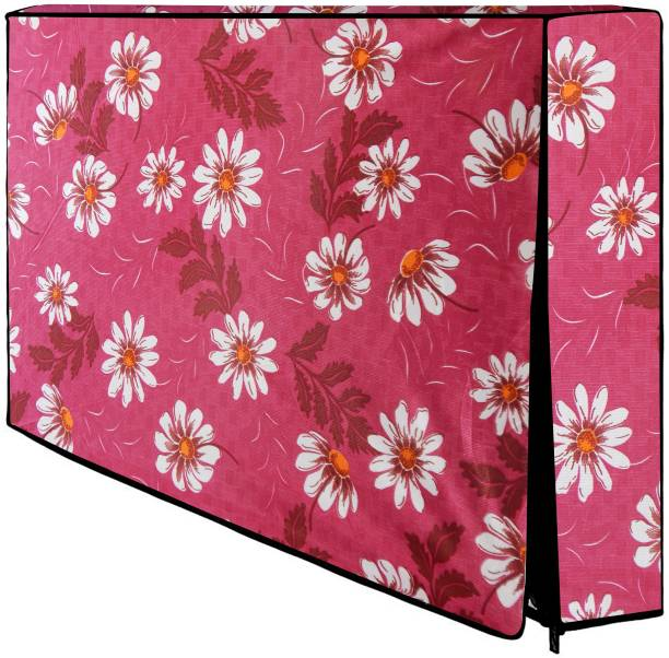 LooMantha Printed PVC Television cover Protector for 32 inch LCD/ LED TV  - All Brands & Models-P20