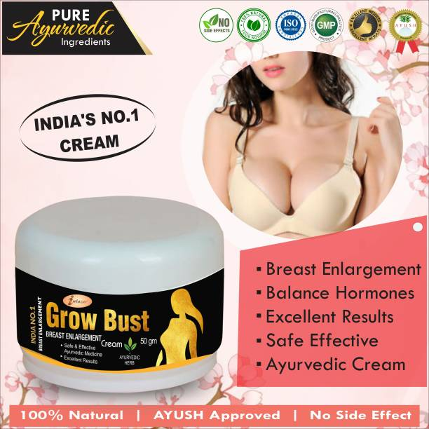 inlazer Grow Bust Massage Cream For Lifting Up Breast Nourishing Skin Increase Flexibility Your Breast
