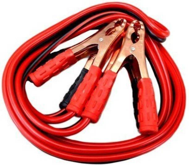 ACCESSOREEZ Car 500 Amp Heavy Duty Jumper Booster Cables 10 ft Battery Jumper Cable