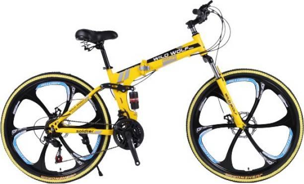 Wild Wolf SOLDER PRO 6 26 T Folding Bikes/Folding Cycle