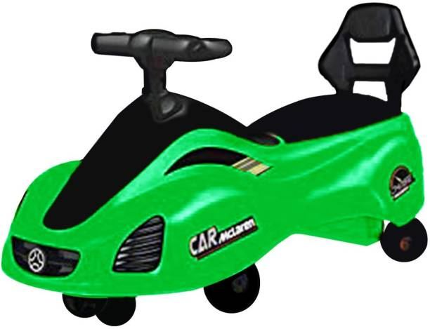 ODELEE MC LAREAN SWING CAR FOR KIDS GREEN Rideons & Wagons Non Battery Operated Ride On