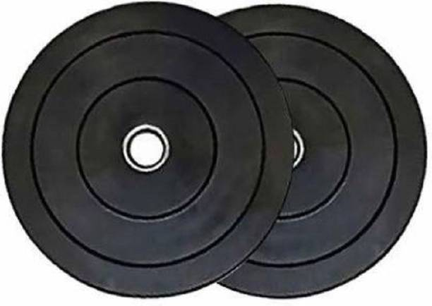 Kiraro 10 KG Rubber Plate Black Weight Plate