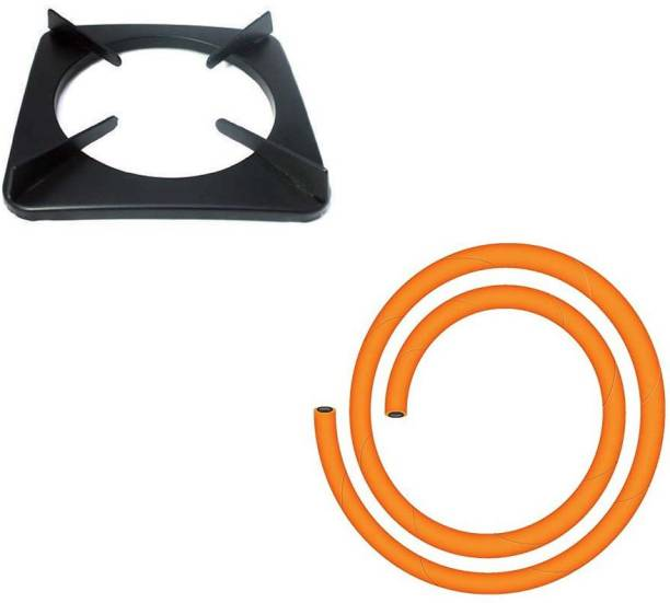 Ninki Fresh Pan Support _with Gas Pipe Cast Iron Manual Gas Stove
