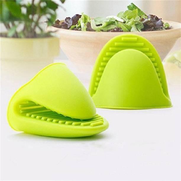 CP ENTERPRISES Light Green Silicon Kitchen Linen Set