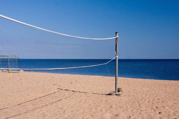 Bixxon Volleyball Net Nylon 4 Side Tape Pack of 1 Volleyball Net