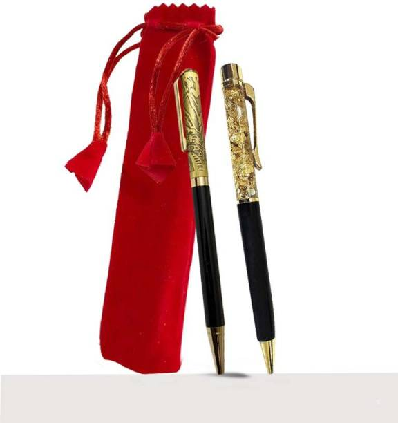 MAKENSTYLECOLLECTION MakenStyle exclusive pen set of 2 with Pouch Ball Pen