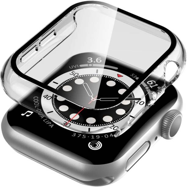 D & Y Edge To Edge Tempered Glass for Apple Watch Series 6 5 4 and SE 40mm Clear
