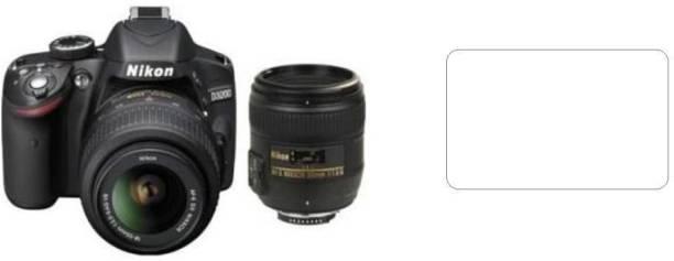 Mudshi Impossible Screen Guard for Nikon D3200 (AF-S 18 - 55 mm f/3.5-5.6 VR II Kit and AF-S 50 mm)