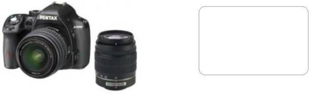 Mudshi Impossible Screen Guard for Pentax K-500 (18-55mm f/3.5-f/5.6 and 50-200mm f/4-f/5.6 Kit Lens)