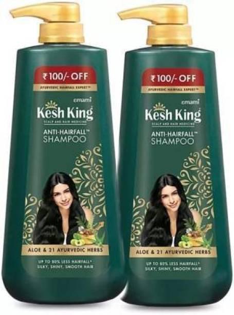 Kesh King Ayurvedic Anti Hairfall Shampoo (Pack Of 2)