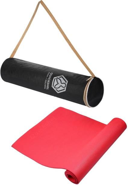 Quick Shel 100%EVA Eco Friendly Red 6 mm Yoga Mat