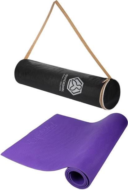 Quick Shel 100%EVA Eco Friendly Purple 6 mm Yoga Mat