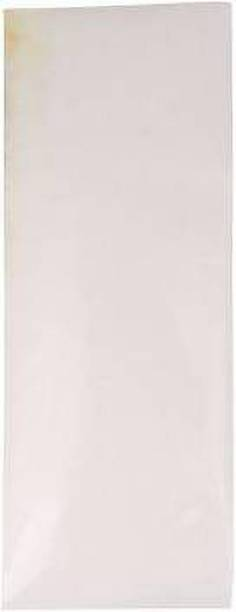 YASH SPORTS Cricket Bat Clear Anti Scuff Sheet with Edge Tape Fitted Bat Sticker