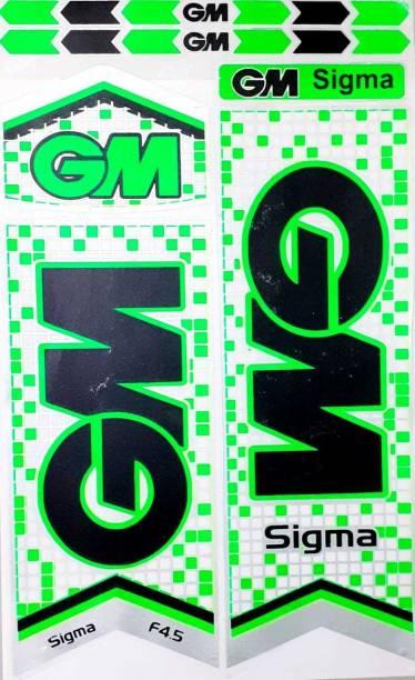 GM DC SIGMA GM CRICKET BAT STICKER Bat Sticker