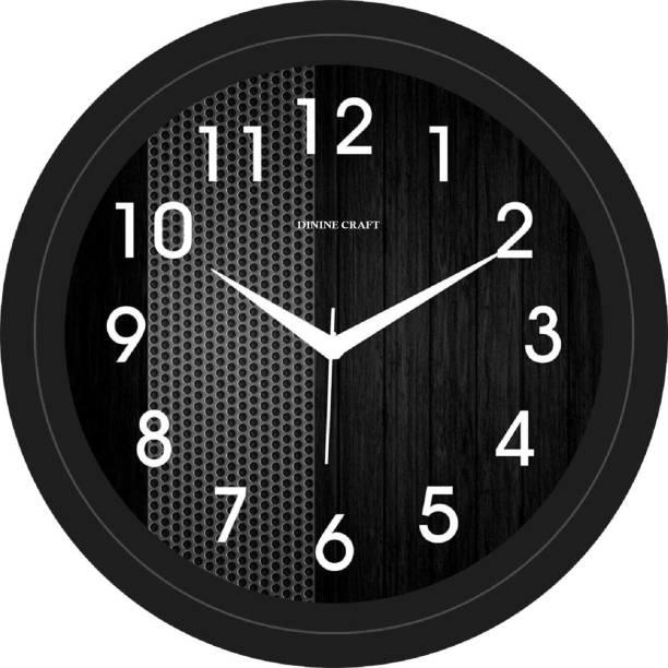 Dinine Craft Analog 28 cm X 28 cm Wall Clock