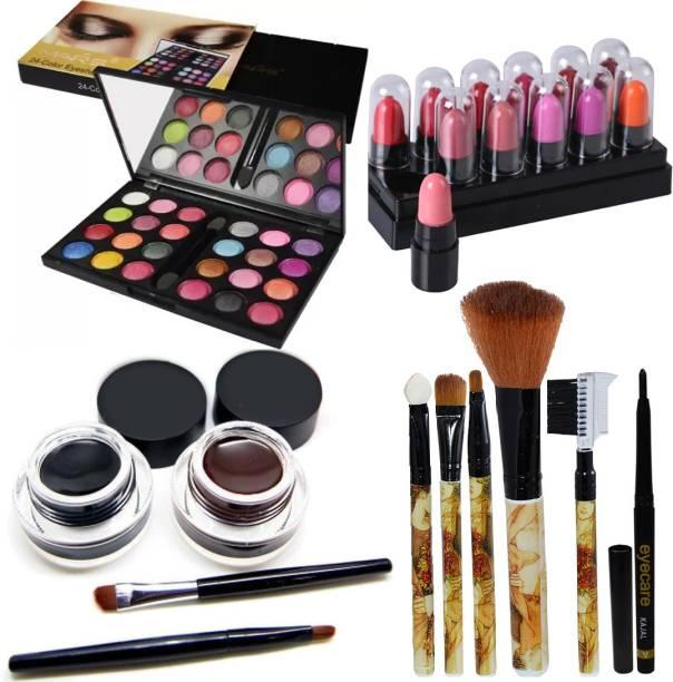 MARS 32 Color Eyeshadow With Eyeliner Gel & Makeup Brush