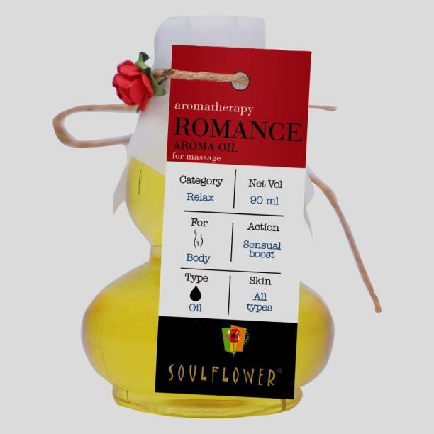 Soulflower Romance Aroma Massage Oil