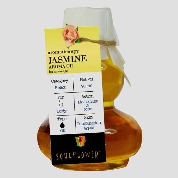 Soulflower Jasmine Aroma Massage Oil