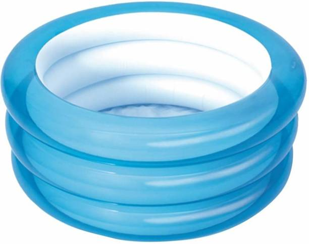 Miss & Chief 3 Ring Baby pool Blue Color ,Kiddie Bath Tub, Water Pool, Kids Swimming Pool
