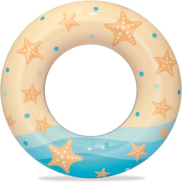 Miss & Chief Inflatable Swim Pool Ring Beach Graphics, (24inch)