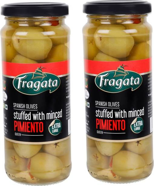 Fragata Queen Stuffed with Minced Pimiento Green Olives Olives