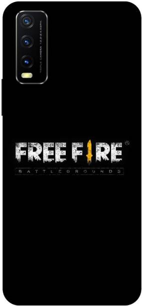 TPM Back Cover for Vivo Y20i, V2027 Free Fire, Game Back Cover