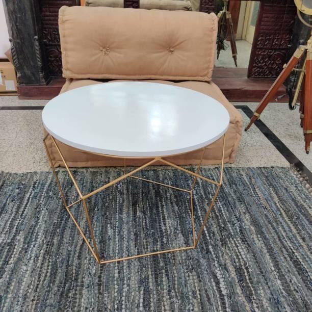 PRITI Golden Dreamer Morgan Coffee Table Engineered Wood Coffee Table