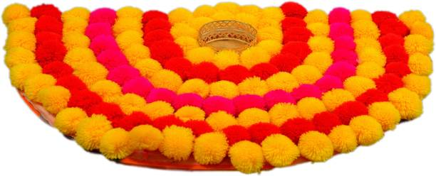 crafteddiyas Wool Table Diya