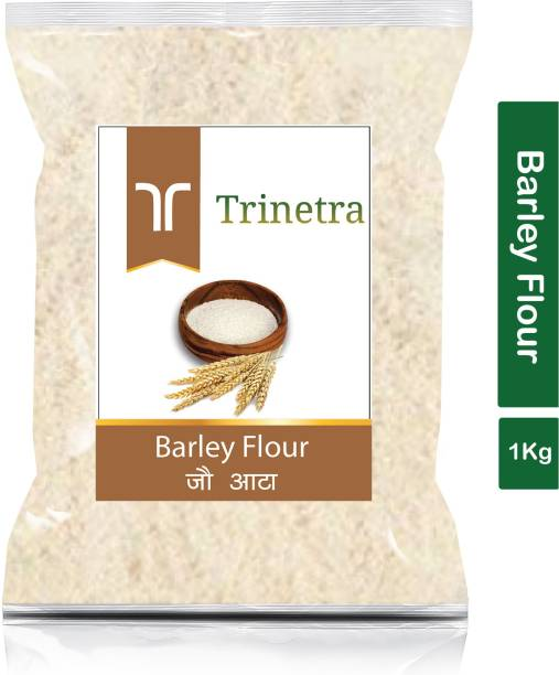 Trinetra Best Quality Jau Atta (Barley Flour)-1Kg (Pack Of 1)