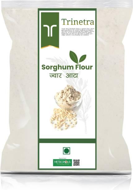 Trinetra Best Quality Jowar Atta (Sorghum Flour)-3Kg (Packing)