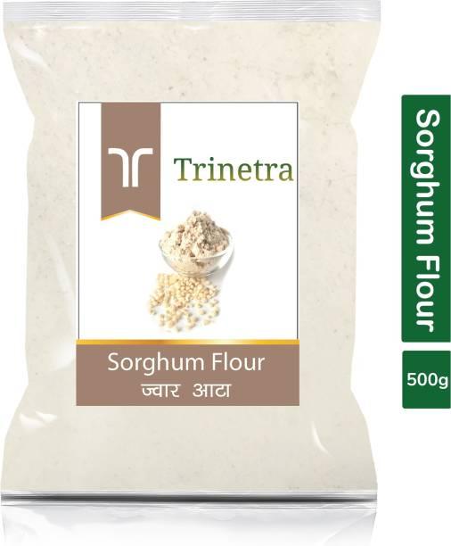 Trinetra Best Quality Jowar Atta (Sorghum Flour)-500gm (Pack Of 1)