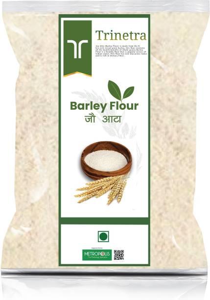 Trinetra Best Quality Jau Atta (Barley Flour)-2Kg (Packing)