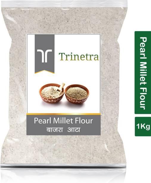 Trinetra Best Quality Pearl Millet Flour / Bajara Atta 1Kg
