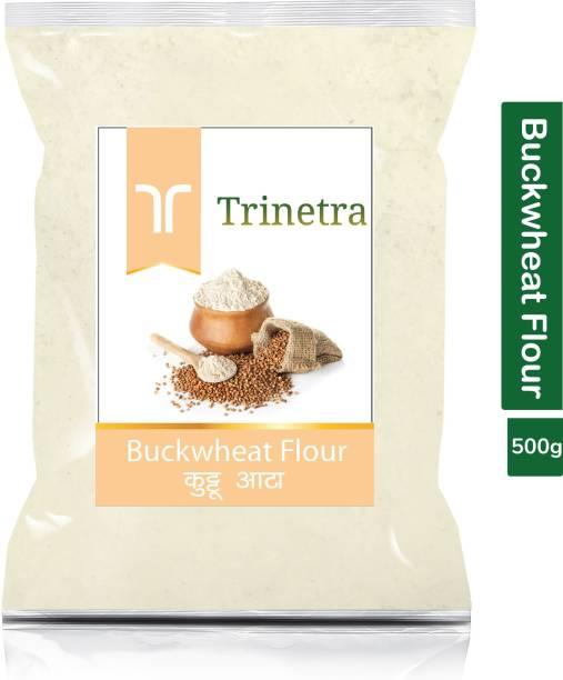 Trinetra Best Quality Kuttu Atta (Buckwheat Flour)-500gm (Pack Of 1)