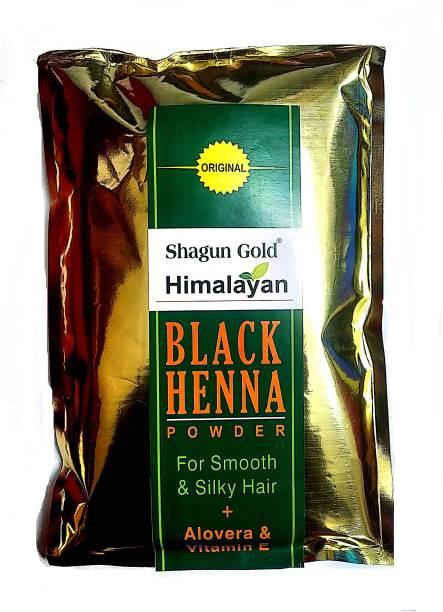 SHAGUN GOLD Black Henna Hair Colour Powder