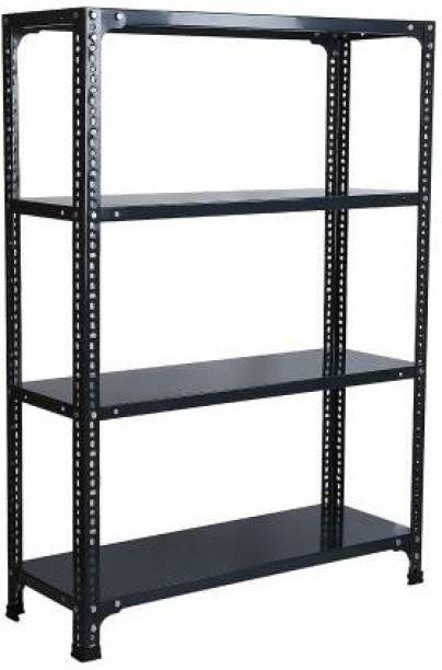 Spacious Sheet 4Shelf (Shelf Multipurpose Slotted Angle Rack , 122486 ) Luggage Rack Luggage Rack Luggage Rack