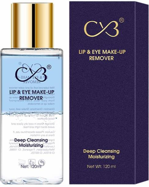 CVB MR-501-01 Lip & Eye Make-Up Remover for Deep Cleansing, Clears Dirt and Removes Make-up, -Based Face Moisturizer for Skin Hydration,Shades 01 Makeup Remover
