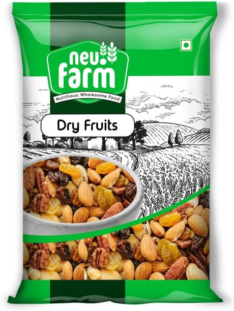 Neu.Farm Premium Dry Fruits - Mix Dry Fruits - Pack of 1 - Trail Mix (Almonds, Cashews, Pista, Raisins, Walnut)