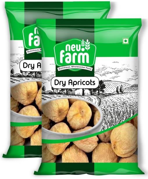 Neu.Farm Dry Apricots - Khumani - Jardalu - Pack of 2 Premium Dried Apricots Apricots