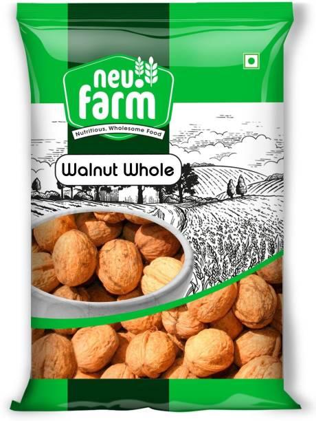 Neu.Farm California Walnut Whole - Premium Akhrot - Pack of 1 Akhrot Whole Walnuts