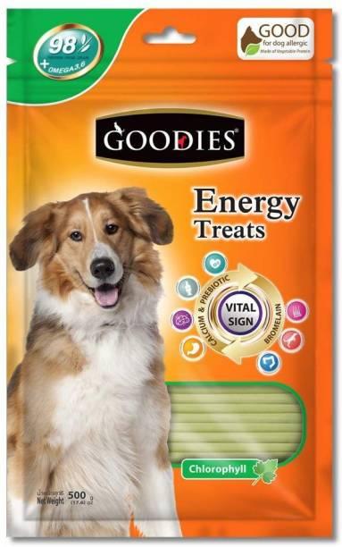 PET LIKES Goodies Energy Dog Treats - Lamb - 500 g Vegetable 0.5 kg (2x0.25 kg) Dry Adult Dog Food