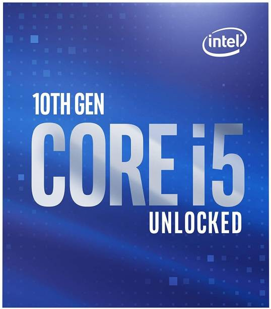 Intel Core i5-10600K 4.1 GHz Upto 4.8 GHz LGA 1200 Socket 6 Cores 12 Threads 12 MB Smart Cache Desktop Processor