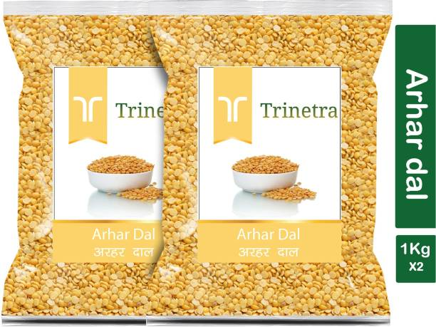 Trinetra Yellow Arhar Dal (Split)