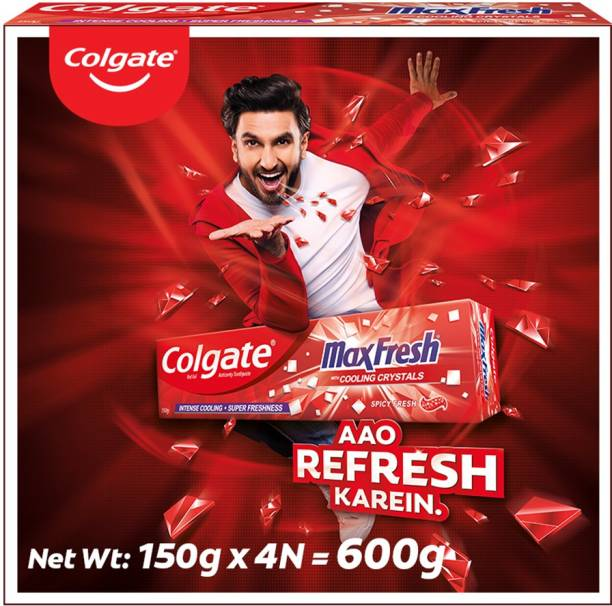 Colgate Maxfresh Spicy Fresh Red Gel Toothpaste