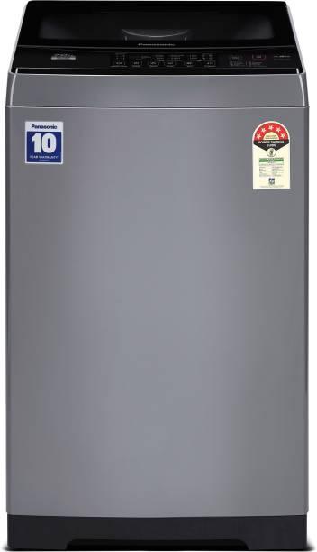 Panasonic 7 kg 5 Star AquaBeat Wash Fully Automatic Top Load Grey