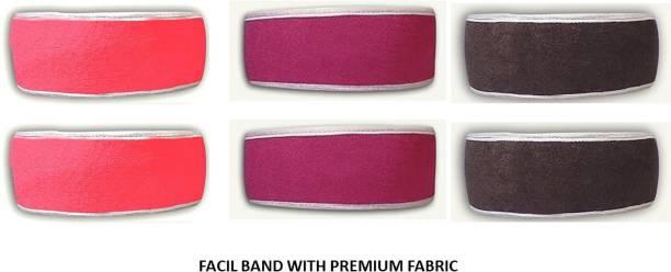 Wildplay facial hair band set of 6 Makeup Headband